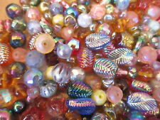 D12--6oz (appr. 100+pcs) Vintage W German & Swarovski Fantastic Glass Bead Lot