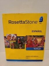 Rosetta Stone Spanish Latin America Level 1
