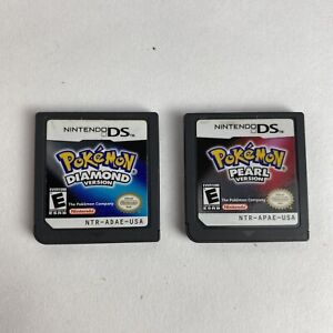 Pokemon: Diamond AND Pearl (DS, 2007) AUTHENTIC AND TESTED Cartridges Only