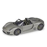Welly 1:24 Porsche 918 Spyder Roadster Diecast Model Racing Car New in Box