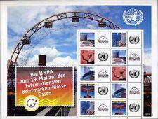 United Nations UN Personalized Sheet Stamp S27 Vienna #449b Essen 2009 Version 1