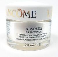 Lancome Absolue Premium BX Absolute Replenishing Cream 0.5 oz. NWOB IMPERFECT