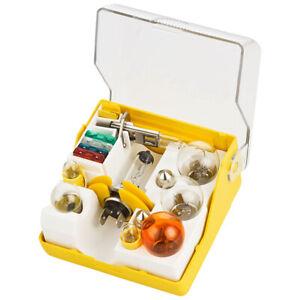 15tlg. Ersatzlampenkasten Ersatzlampenbox Ersatzlampenset 24V H7 H1