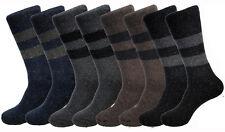 New 12 Pairs Mens Quality Rabbit Wool Winter Warm Crew Thermal Socks Size 10-15