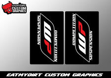 FOR CRF KTM YZF KXF RMZ 125 250 350 450 UPPER FORK WRAP STICKERS GRAPHICS DECALS