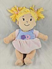 "Manhattan Toy Blond Doll Girl Plush 14"""