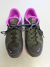 "Nike ""Flex TR2"" black and purple running shoes. Women's 12 (eur 44.5)"