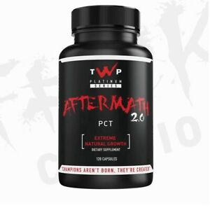 TWP Aftermath 2.0 PCT 120 Caps💥 NEW 2021💥Testosterone Booster Natural Growth💥