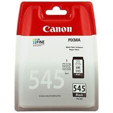 Genuine Canon PG-545 Black Printer Ink Cartridge for Pixma MG2550