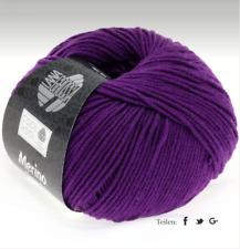 Lana Grossa Cool Wool Laine Mérinos Lavable en Machine Fb 547 Rouge-Violet