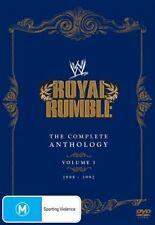 "WWE ""ROYAL RUMBLE"" DVD 5-DISC ANTHOLOGY SET- VOL.1, 1988-92, Hogan Flair WWF"