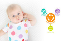Baby Trend Respiro(TM) Crib Mattress Infant Sleep Surface - Warm White