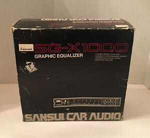 Egaliseur Graphique SG-X1000 Samsun Car Audio