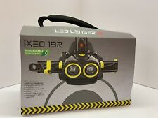 LED Lenser iXEO 19R Multi Light Rechargeable LED Head Torch XEO 19R NEW