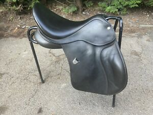 Bates 17.5 Inch GP Saddle Black