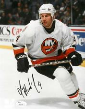 Roman Hamrlik Signed Islanders Authentic Autographed 8x10 Photo JSA #T82134