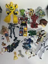 Transformers Mix Lot of Action Figures Vehicle Huge Collection Dk, Power Rangers