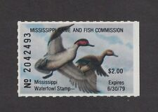 MS3 - Mississippi State Duck Stamp.   Single. MNH. OG.