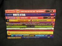 LOT OF 12 PAPERBACK BOOKS FOR GRADES 4 5 6 SUBJECT DOGS & ANIMALS