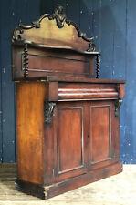 Antique Victorian Chiffonier Sideboard 2 Door Cabinet Cupboard DELIVERY*