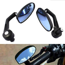 "7/8"" Handlebar Bar End Rearview Side Mirrors For Motorcycle Honda KTM Yamaha New"