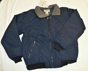 Men's L.L. Bean Warm-Up Jacket, Fleece Lined Medium, Thinsulate, New with Tags