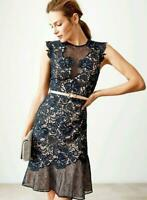 June lace floral dress originally made for Reiss RRP £250 4 6 8 10 12