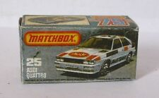 Repro box Matchbox Superfast nº 25 Audi Quattro