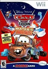 Cars Toon: Mater's Tall Tales (Nintendo Wii, 2010) Tested And Working w/ Manual