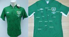 2012-13 Republic of Ireland v Germany Squad Signed Home Shirt with COA (16615)