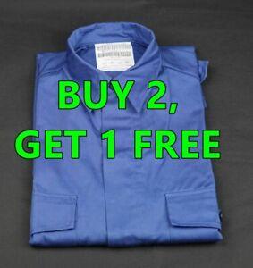 Netherlands Army Shirt Blue Heavy Duty Many Sizes. NEW BUY 2, GET 1 FREE