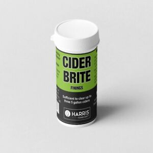 Harris Filters Cider Clear finings for home brew  Issinglass. clears 3 x 23 litr