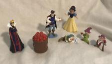 Disney Store Figurine PlaySet Snow White 7 Piece Set