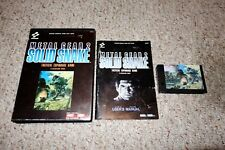 Metal Gear 2: Solid Snake (MSX 2, 1990) Complete JAPAN Import