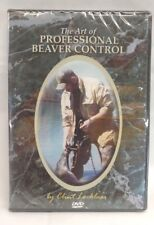 DVD - Locklear - The Art of Professional Beaver Control trapping, traps, trap