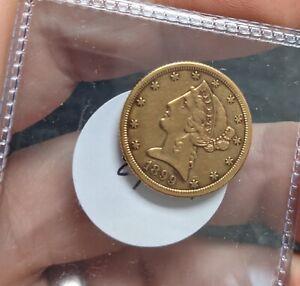 1899-S US $5 GOLD LIBERTY -#A343