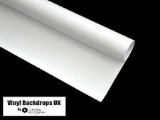 2m x 2m White Vinyl Photography Background - High Key Rolled Studio Backdrop
