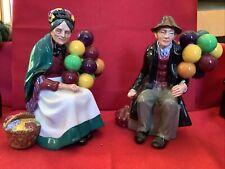 "Royal Doulton Balloon Man Hn.1954&The Old Balloon Seller""H.N.1315 Prestine Cond."