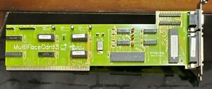 Commodore Amiga BSC MultiFaceCard3 rev 3 Zorro Card, Not Fully tested, As-Is