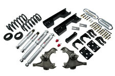 "Belltech Lowering Kit 97-2000 GM C2500/3500 Ext,Crew Dually 4""/5""F 8""R SP Shocks"