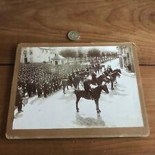 photo ancienne militaire a cheval N42