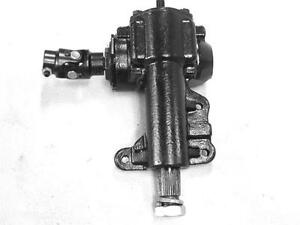 16:1 Ratio Manual Steering Box 1967 - 1970 Ford Mustang Cougar w Universal Joint