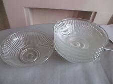 RETRO GLASS SUNDAE DISHES