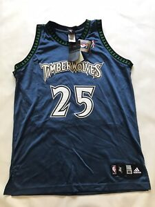 ADIDAS AUTHENTIC AL JEFFERSON MINNESOTA TIMBERWOLVES JERSEY NWT SIZE 44