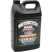 4 Litri Olio Motore Drag Specialties 20W-50 Minerale per Harley Davidson Genuine