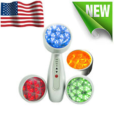Face Skin Rejuvenation LED Handheld Therapy Light Device Photon Beauty Care Tool