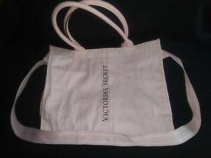 Victorias Secret ICONIC STRIPE Packable Travel Tote Bag Shopper