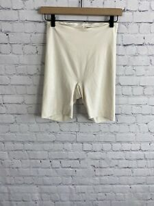 Spanx by Sara Blakely High Waisted Shaper Shorts Large Nude Cream