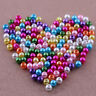 20/50/100/200/500 Pcs Mixed Pastel Glass Pearl Loose Round Spacer Beads 4-12mm