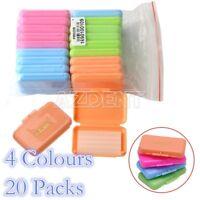 20 Packs AZDENT Orthodontics Dental Colorful Wax For Braces Gum Irritation 1 Set
